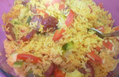 une recette testée et approuvée de l'espace-recettes:riz à l'espagnole