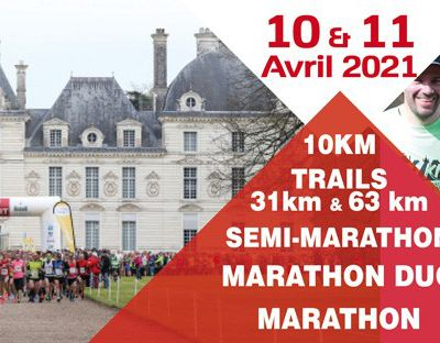 Marathon de Cheverny : rendez-vous en avril 2021
