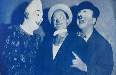 Alex, Charly et Simo, un bon trio clownesque.