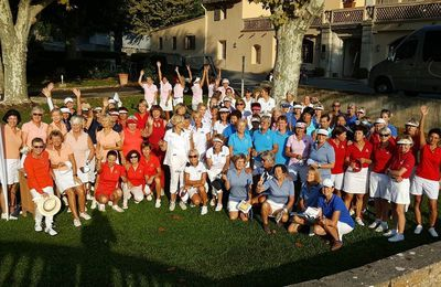 2019 Rencontre Ladies French Riviéra Trophy à Opio Valbonne