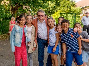 La visite de Mr. le Maire (2016)