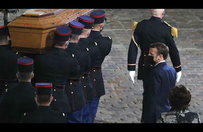 Emouvant discours du Président de la République à la Sorbonne en hommage à Samuel Paty