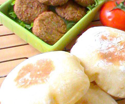 Ta'amiya - Falafels et pain pita