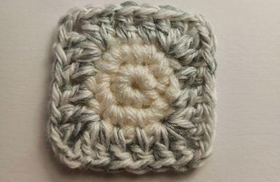 crochet : comment passer d'un rond à un carré ?