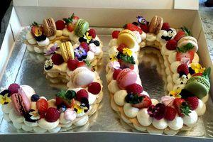 NUMBER CAKE POUR UN ANNIVERSAIRE SURPRISE
