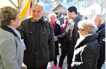 Excellente ambiance sur les marchés de Noël         Es war sehr gemütlich