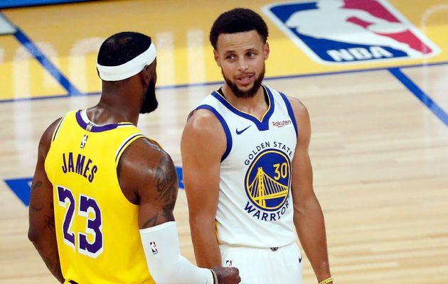 Les Warriors gâchent les débuts du duo LeBron James-Russell Westbrook