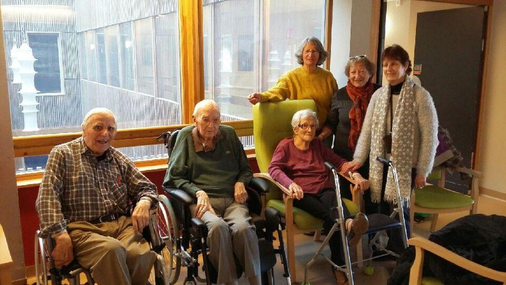 Bessans : Visite aux personnes âgées