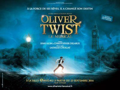 Oliver Twist : Le Musical de la Rentrée!