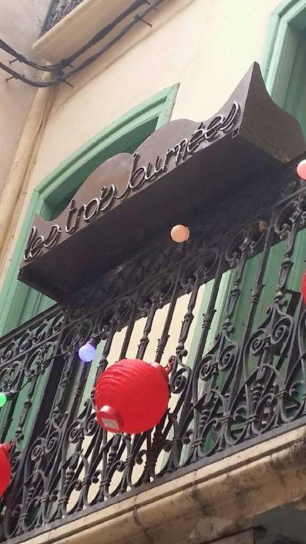 Perpignan/ restaurant: l'appart devient les trois journée, grâce à la cuisine vagabonde de Véronique Souloy! interview par Nicolas Caudeville