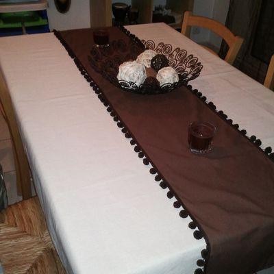 Nappe chocolat