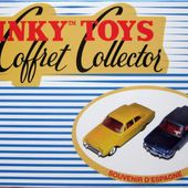 COFFRET COLLECTOR SOUVENIRS D'ESPAGNE FORD TAUNUS 17M BMW 1500 DINKY TOYS REEDITION ATLAS 1/43 - car-collector