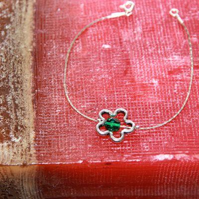 Bracelet Paquerette Green