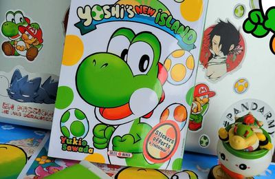 Yoshi's New Island soleil manga