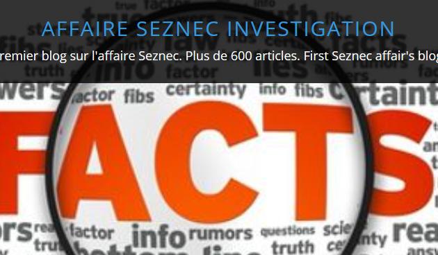 Vies et morts des personnages de l'affaire Seznec sur le blog Seznec Investigation.