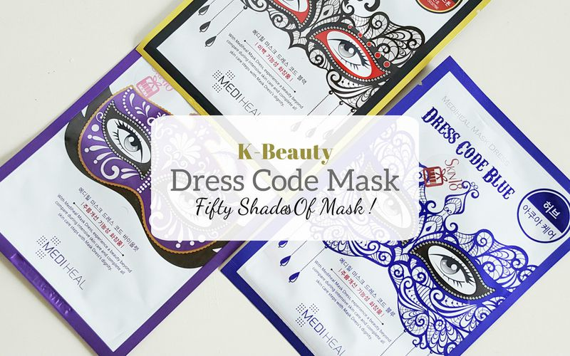 K-Beauty - Les Dress Code Mask de Mediheal