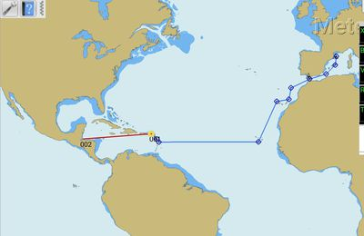 Pour les colibris à l'école, nous racontons notre prochaine navigation vers le Guatemala
