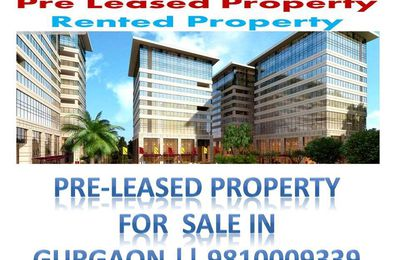 Best investment pre-rented properties for sale in gurgaon || 9810009339