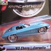 CHEVROLET CORVETTE STINGRAY 1963 1/50 HOT WHEELS - car-collector.net