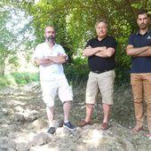 Charente : les rivières au plus bas, les pêcheurs désemparés