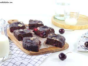 The Brownie Allégé {Abricots et Noix du Brésil}