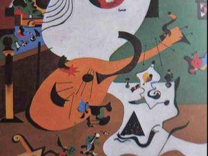 Intérieur hollandais vu par Miró