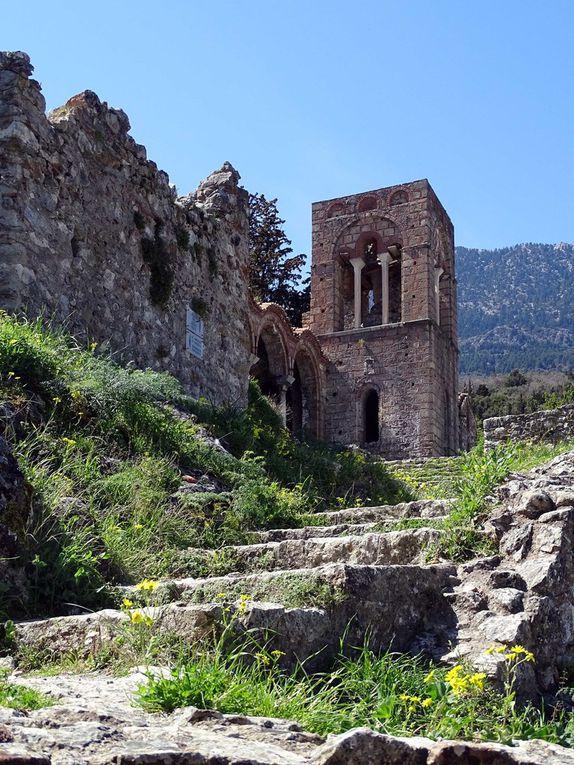 Grèce, Peloponese deuxième partie, Mystra, Githion, Monemvassia,