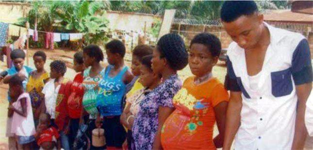 Imágenes tráfico de personas, mujeres, niños, niñas y bebés en Nigeria.- El Muni.