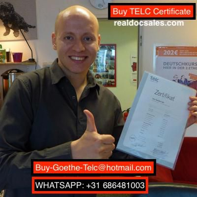 Whatsapp: +31 686481003Buy-Goethe-Telc@hotmail.com) #Buy TELC C1 Zertifikat Online, #Buy telc certificate a1 without exam #online, Buy genuine #telc certificate #a2 #online for sale, #Buy TELC #C1 #Certificate online without #exam, buy #legit telc certificate #b1 online, buy real telc certificate b2 for sale without test, #buy telc certificate #c1 #online for sale without exam, #Buy #valid telc #certificate #without exam, #real Telc #german certificate C1 online in Germany, #Buy TELC certificate c2 without exam, Buy #original TELC #C2 exam online, TELC C1, TELC C2 online, Buy #authentic #genuine #registered #valid #real #verified telc English, German, Turkish, Spanish, French, Italian, Portuguese, Russian, Polish, Arabic certificate #A1-A2-B1-B2-C1-C2 online without exam for #sale in Germany, Japan, India, China, Indonesia, Vietnam, Thailand, Singapore, #Philippines, South Korea, Hong Kong, Malaysia, Iran, Pakistan, Iraq, Sri Lanka, Myanmar, Saudi Arabia, Combodia, How can i get or buy telc English, German, Turkish, Spanish, French, Italian, Portuguese, Russian, Polish, and Arabic certificate online in Israel, Taiwan, Bangladesh, Syria, Maldives, Laos, Nepal, Brunei, Qatar, North Korea, Uzbekistan, Afghanistan, United Arab Emirates, Do you need #legit #certified #telc English, German, Turkish, Spanish, French, Italian, Portuguese, Russian, Polish, and Arabic a1, a2 certificate without exam for sale in Lebanon, Mongolia, Yemen, Armenia, Macao, Kuwait, Oman, #Jordan, Bhutan, Bahrain, Kyrgyzstan, Palestine, Turkmenistan, Tajikistan, Timor-Leste, I want to obtain telc #certificates #English, #German, #Turkish, #Spanish, French, Italian, Portuguese, Russian, Polish, and Arabic b1, b2 in Christmas Island, Cocos, British Indian Ocean Territory, Italy, France, Greece, United Kingdom, Croatia, Spain, Malta, Whatsapp: +31 686481003) (buy_telc_goethe_testdaf_dsh@yahoo.com)
