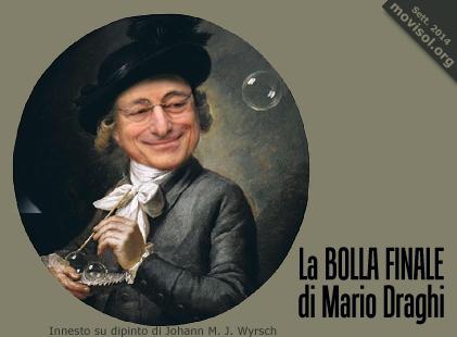 La bolla finale di Mario Draghi