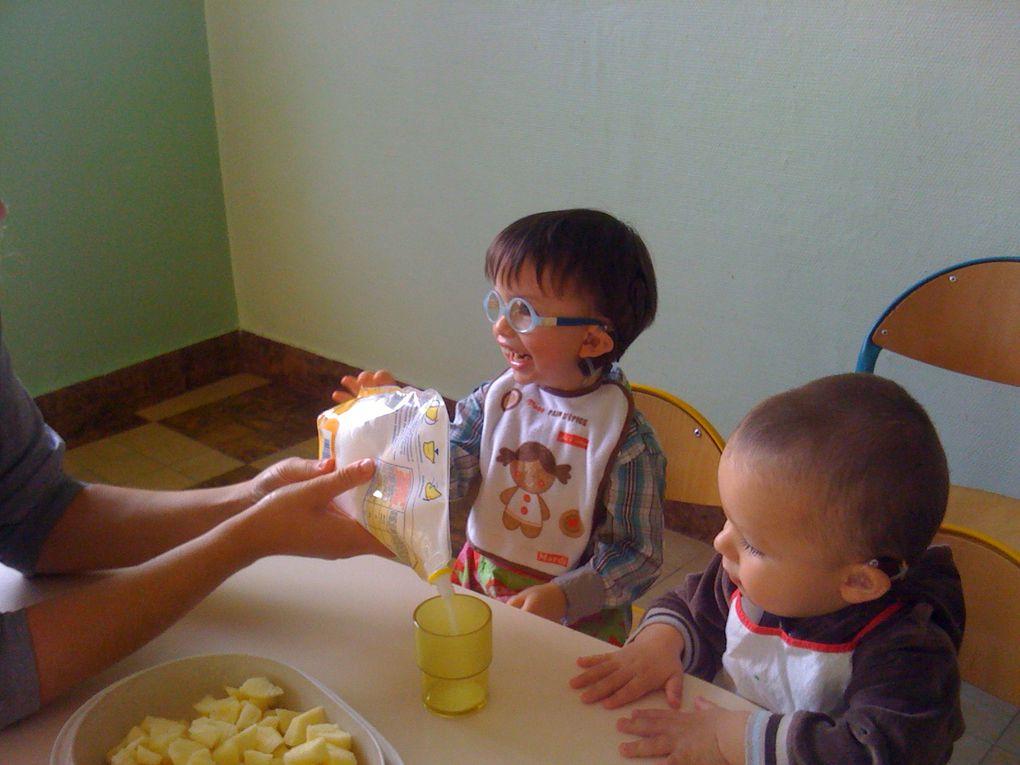 Les activités d'éveil de la toute petite section de maternelle année scolaire 2011-2012
