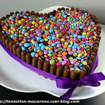 Gâteau au chocolat effet Waouh !!!