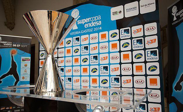Endesa: La Supercopa débutera le 26 septembre