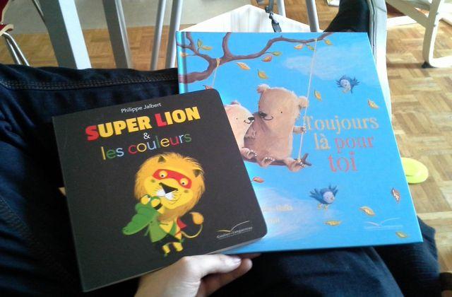 """[Papathèque] À la découverte de """"Super Lion"""" et """"Toujours là pour toi"""" (éd. Gautier-Languereau)"""