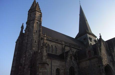 Guérande Ville d'art et d'histoire - Visite de la Collégiale Saint-Aubin de Guérande, le 18 janvier 2015