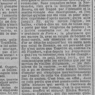Flaubert etMadame Bovary