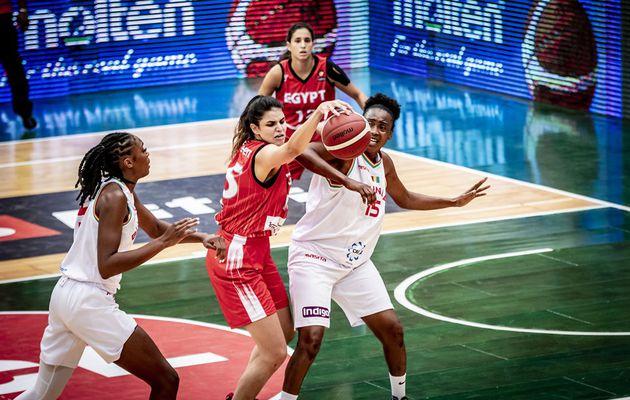 AfroBasket Women 2021 : l'Égypte s'impose avec autorité face à la Guinée après une première période difficile