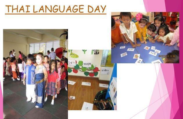 Journée Nationale de la langue Thaïe