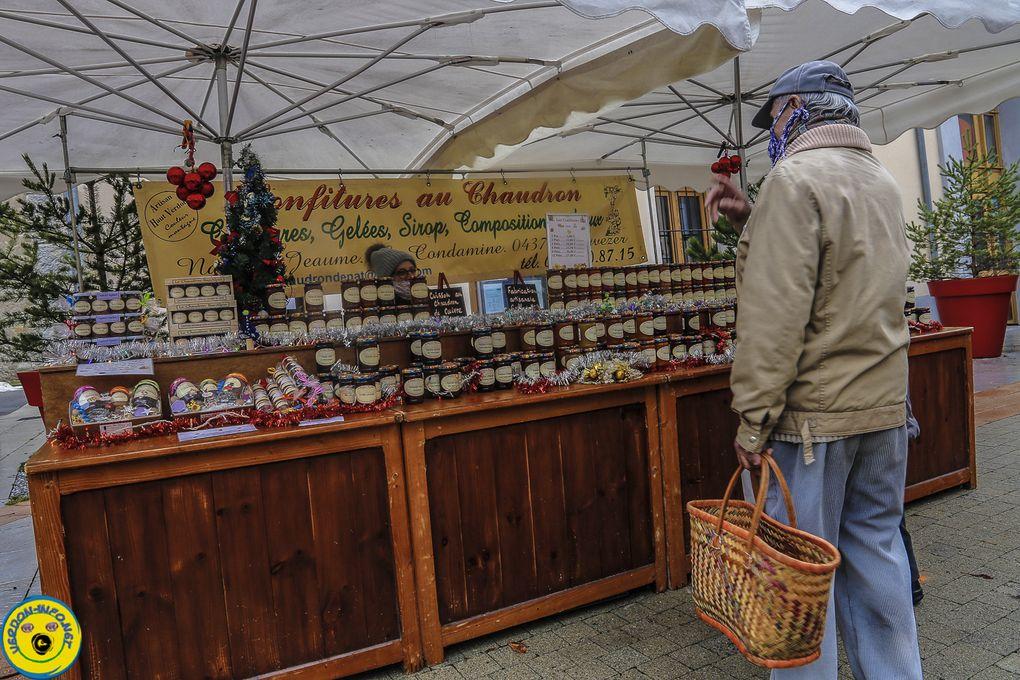 St André les Alpes  : 10 e marché de Noël