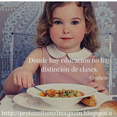 Cursos de Etiqueta y Buenos modales,  para niños y niñas.