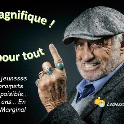 """Il était Marginal mais  """" Magnifique """""""
