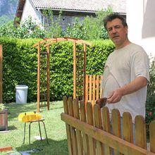 Un coin bois pour le jardin...