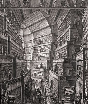 La bibliothèque de Babel