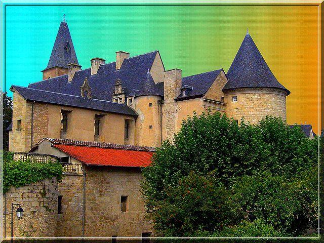 Diaporama château de Bournazel