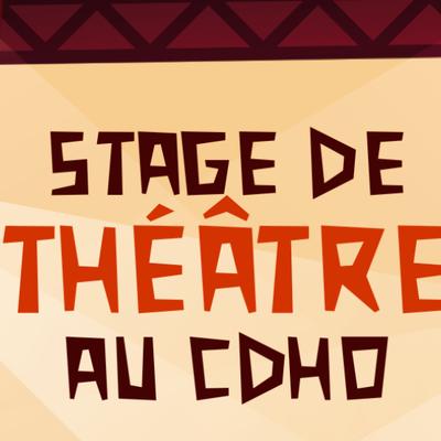 Stage de théâtre 7 - 12 ans