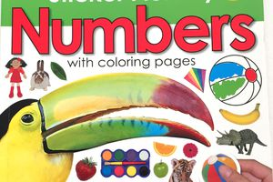 Numbers activity Priddy books