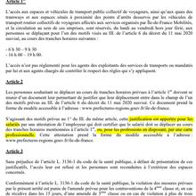 #Covid19 : Déplacements des agents de sécurité en transport en  Île-de-France [GES]