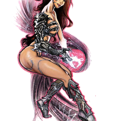 Witchblade - Femme - Rousse - Sexy - Render-Tube - Gratuit