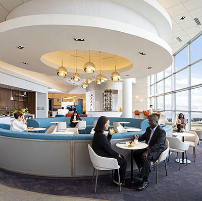 Air France renouvelle son salon à l'aéroport de Washington