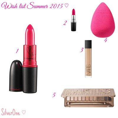 Wish list Cosmetics ♡ TOP 5